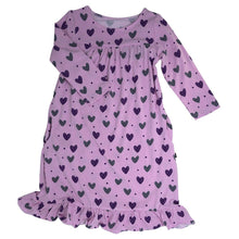 Purple Hearts Boho Dress by Sweet Bamboo