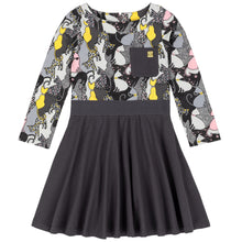Printed Cat-Mouflage Dress by Deux Par Deux