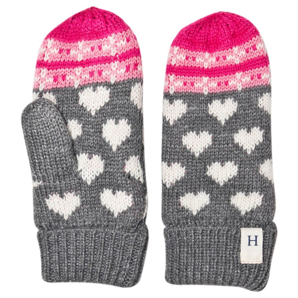 Winter Hearts Mittens