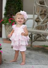 Nancy Dress in Pink with Bloomers by Isobella & Chloe