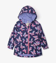 Butterfly Kaleidoscope Rain Jacket