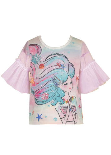 Praying Mermaid Top