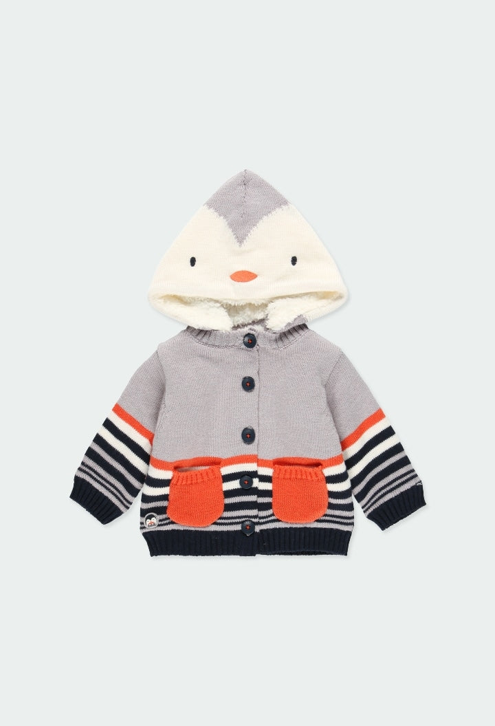 Knit Penguin Jacket by Boboli