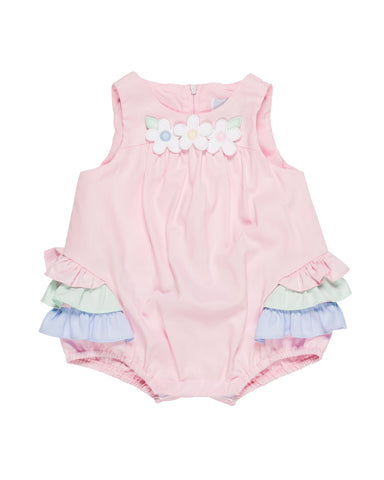Baby Girl's Romper with Flowers