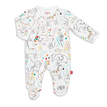 Organic Cotton Magnetic Footie by Magnetic Me