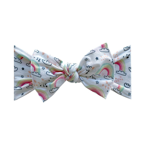 Dream Printed Knot Headband by Baby Bling NEW
