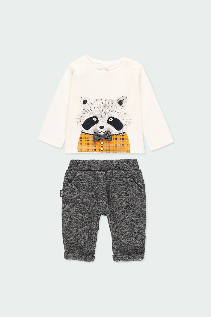 Pack Knit Raccoon for Baby by Boboli