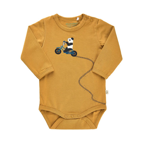 MinyMo Wood Thrush Bodysuit