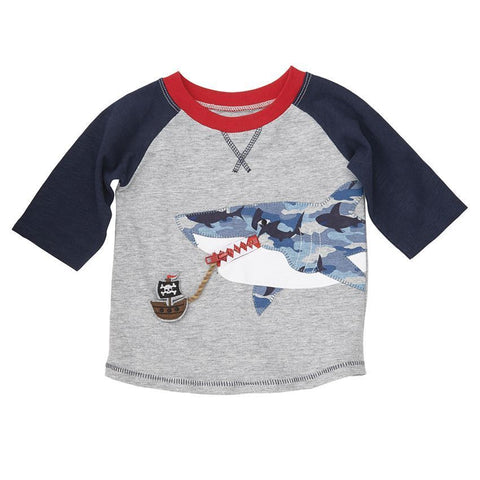 Camo Shark Interactive Shirt