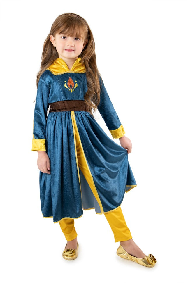 Deluxe Scandinavian Princess, Leggings & Cloak Set