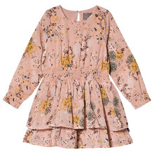 Creamie Printed Chiffon Dress