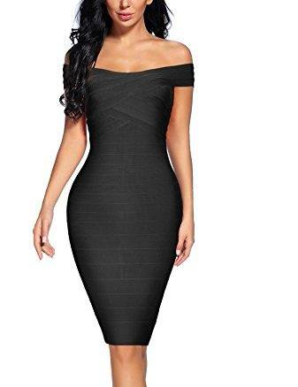 LINA BANDAGE DRESS - MORE COLORS