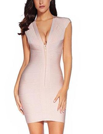MATT BANDAGE DRESS - MORE COLORS