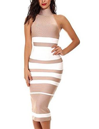 CRINA BANDAGE DRESS - 2 COLORS