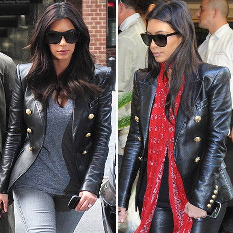 KIM VEGAN LEATHER JACKET
