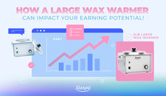 How a Large Wax Warmer can Impact Your Earning Potential