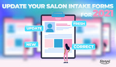 Update Your Salon Intake Forms