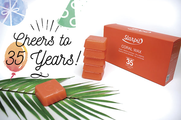 Cheers To 35 Years Introducing Coral Wax