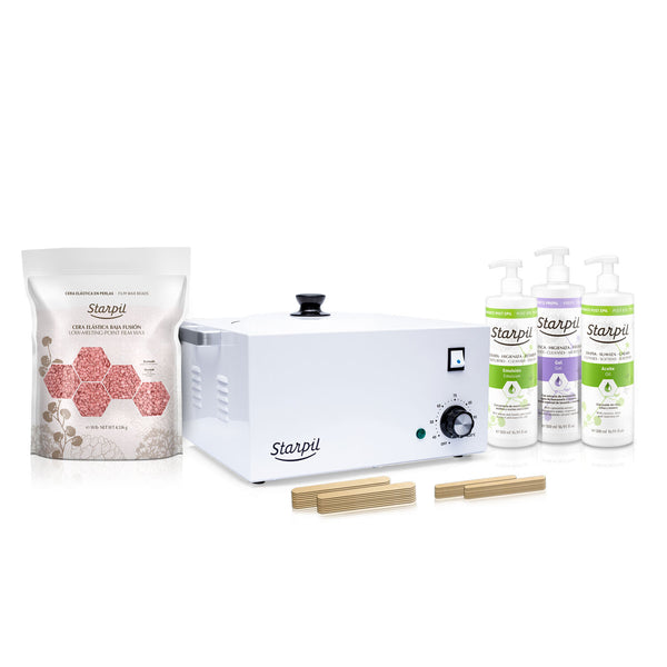 New 10lb kit With Cream by Starpil wax