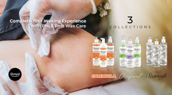 Starpil Pre and Post Wax Collections