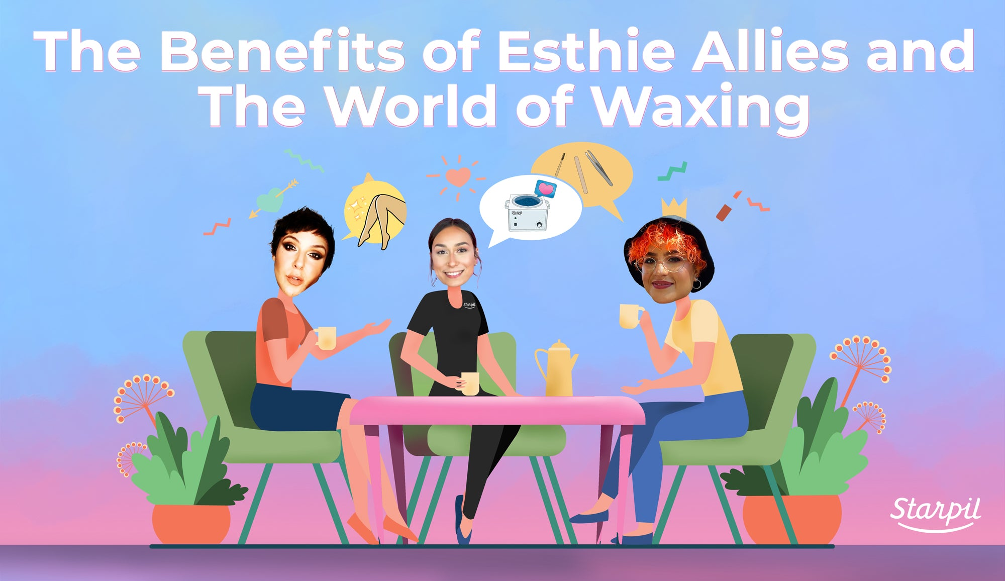 The Benefits of Esthie Allies and The World of Waxing