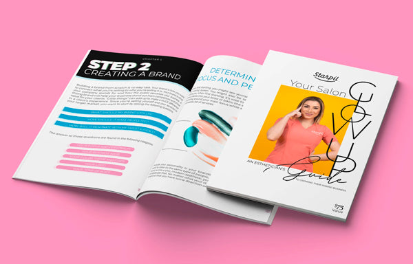 Download your guide Salon Glow up by Starpil USA