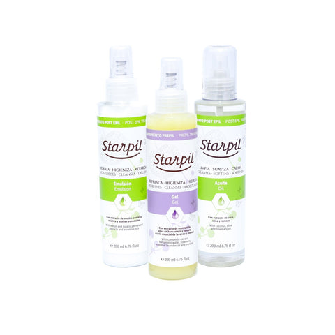 Pre and Post Wax Bundle 3-Pack