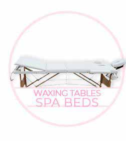 Waxing waxing tables spa beds