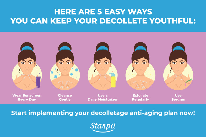 5 Ways to Keep Decolette Youthful