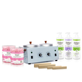 Dual Professional Waxing Kit (Hard Wax)
