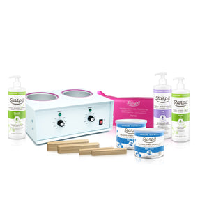 Dual Professional Soft Waxing Kit (500ml/500ml)