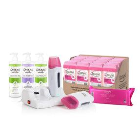 Dual Professional Roll-On Waxing Kit