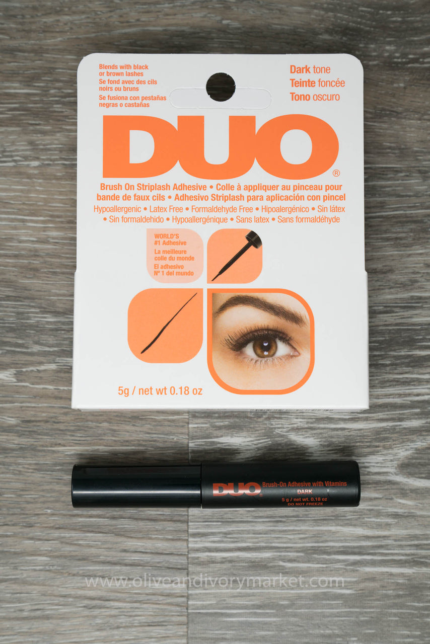 Duo Eyelash Glue In Black Latex And Formaldehyde Free Olive And