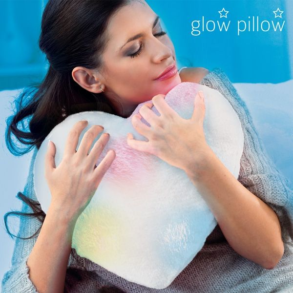 GLOW PILLOW HEART LED PILLOW