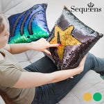 MERMAID CUSHION WITH MAGIC SEQUIN COVER - Verano Time