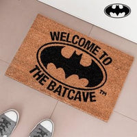 WELCOME TO THE BATCAVE DOORMAT