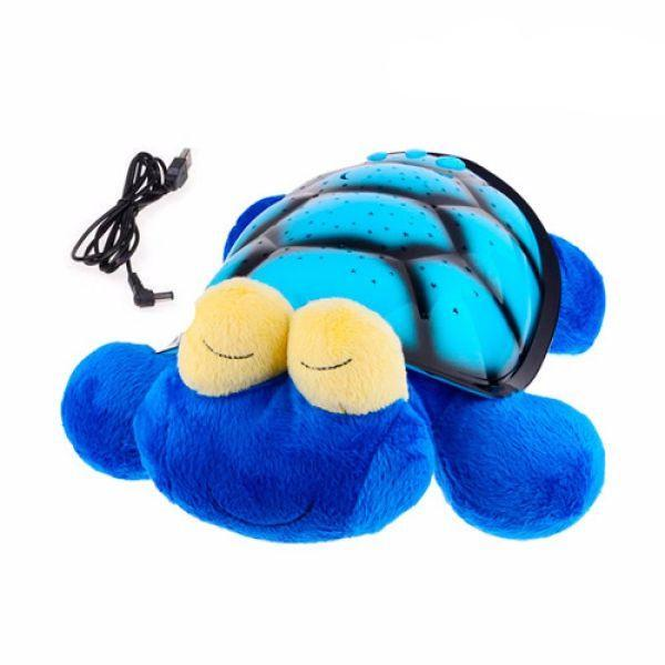 GLOW PILLOW CUDDLY TOY WITH LED PROJECTOR