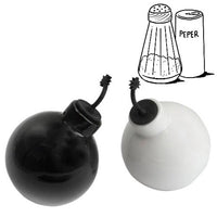BOMB CERAMIC SALT & PEPPER SET