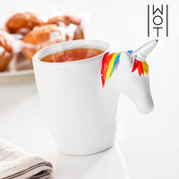 WAGON TREND UNICORN MUG WITH HANDLE