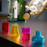 CHEMISTRY SHOT GLASSES (PACK OF 4)