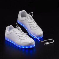 GLOWFLOW TRAINERS WITH LED - UNISEX Adults