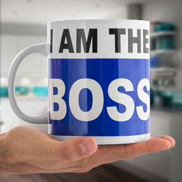 I AM THE BOSS XL MUG - Verano Time