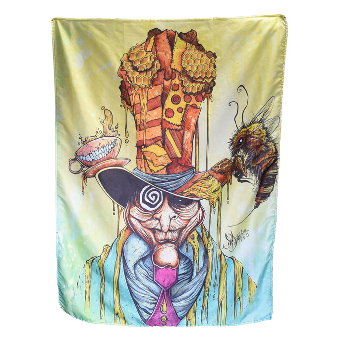 Honey Hatter Tapestry