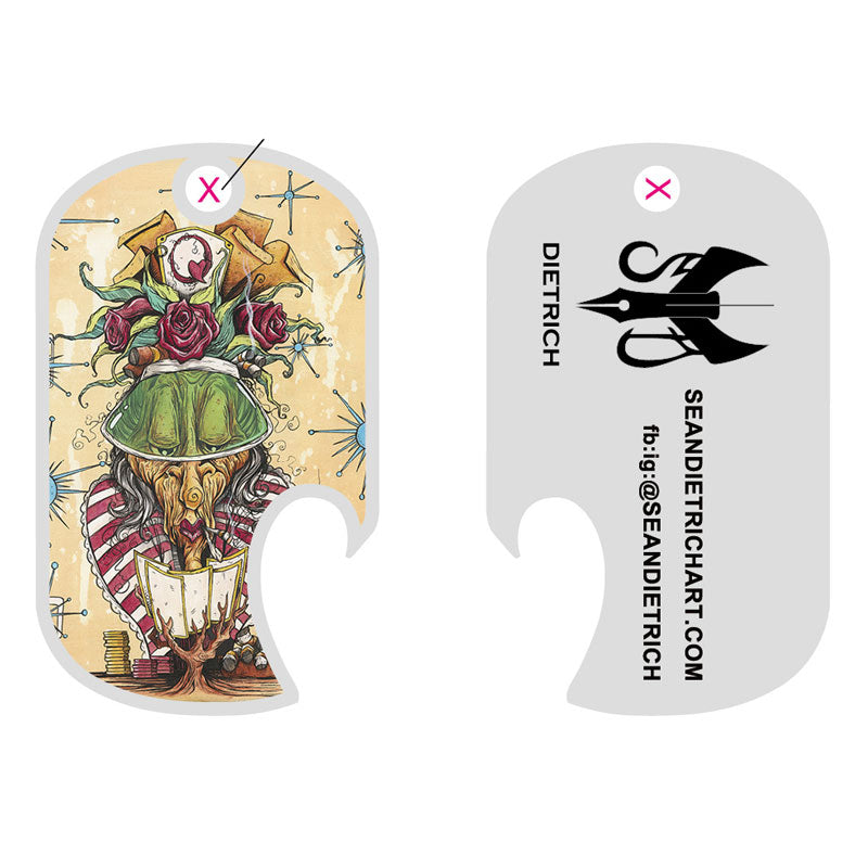 Red Queen Bottle Opener