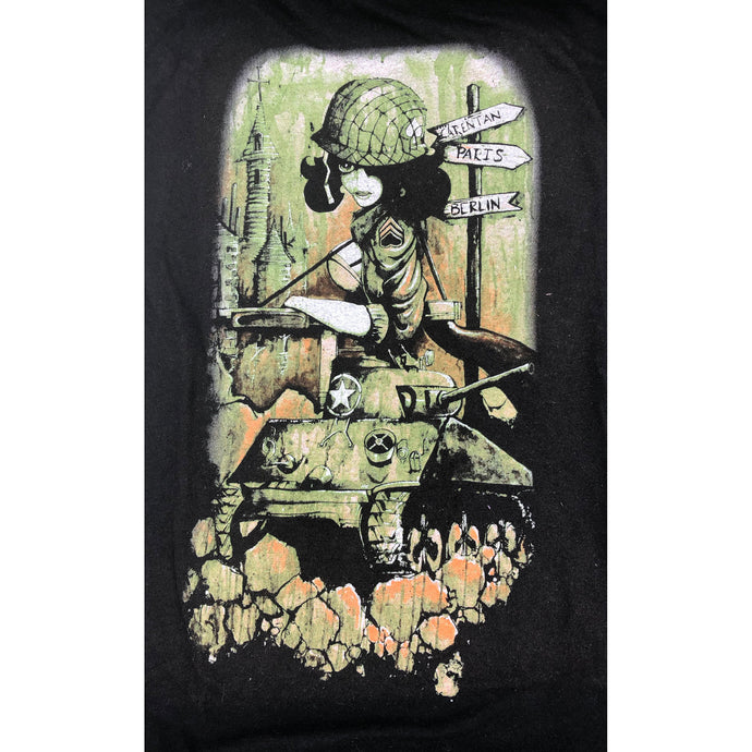 Sherman Tank Girl T-Shirt