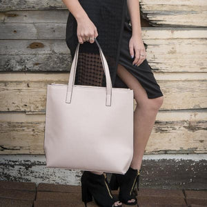 CHERMSIDE - Addison Road Blush Structured Saffiano Shopper