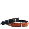 SURRY HILLS - Womens Black Leather Belt with Silver Buckle - Addison Road