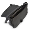 PRAHRAN- Addison Road Natural Black  Calf hair Saddle Bag - Addison Road