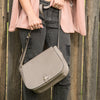 ALBERT PARK - Storm Pebbled Leather Saddle Bag - Addison Road