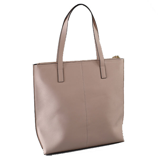 CHERMSIDE - Addison Road Blush Structured Saffiano Shopper - Addison Road
